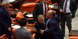 Meclis'te yine kavga çıktı! MHP'den sert tepki