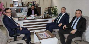 Seyit Faruk Özselek'ten Lokman Koyuncuoğlu'na ziyaret