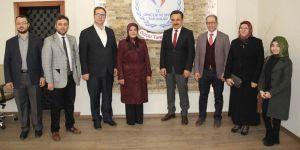 Fatma Toru'dan Spor İl Müdürlüğü'ne ziyaret