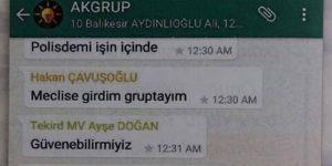 Darbe girişimi gecesi AK Parti milletvekillerinin WhatsApp konuşması!