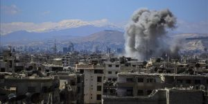 32 killed in Syrian regime attacks near Damascus