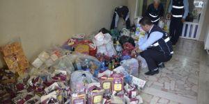 1,5 ton bozuk gıda maddesi imha edildi