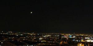 Başkent semalarında ay yıldızlı görsel şölen