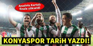 Konyaspor, Türkiye Kupası'nda finalde!