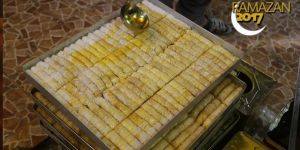 Suriye tatlıları bayramda ağızları tatlandıracak