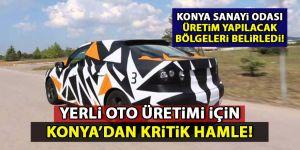 Konya'dan yerli otomobil için kritik hamle