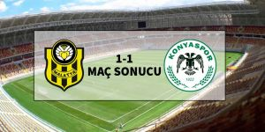Yeni Malatyaspor 1-1 Atiker Konyaspor