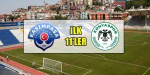 Kasımpaşa - Konyaspor | İLK 11'LER