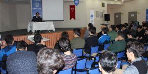 Özel Enderun Mevlana Erlerinden Prof.Dr. Ali Temizel'i ağırladı