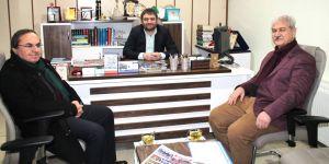 Altıntaş ve Erten'den gazetemize ziyaret