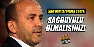 Mehmet Özdilek, Konyaspor taraftarını sağduyulu olmaya davet etti
