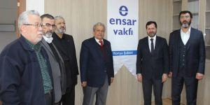 Ziya Altunyaldız'dan Ensar Vakfı Konya Şubesi'ne ziyaret