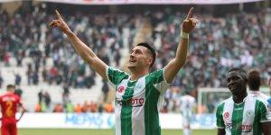Konyaspor'da golcüler çalıştı