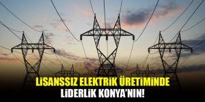 Elektrik üretimi ocakta yüzde 3,3 arttı! Konya lider...