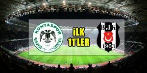 Atiker Konyaspor - Beşiktaş | İLK 11'LER BELLİ OLDU!