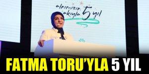 Fatma Toru Meram Belediyesi'ndeki 5 yılını anlattı