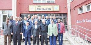 Meram'da Ekim ayı güvenlik toplantısı yapıldı