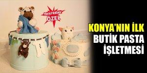 Konya'nın ilk butik pasta işletmesi