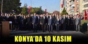 Konya'da 10 Kasım