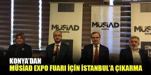Konya'dan MÜSİAD Expo Fuarı için İstanbul'a çıkarma