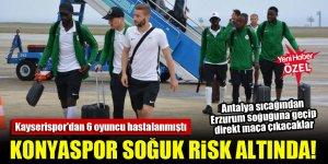 Antalya'dan Erzurum'a geçecek Konyaspor, soğuk risk altında!
