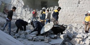 Esed rejiminin İdlib'e saldırıları sürüyor