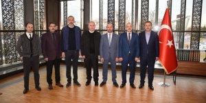 Konyaspor'dan Selçuklu Belediye Başkanına ziyaret