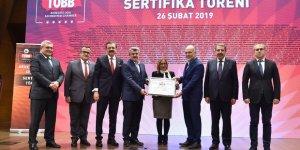 Konya Sanayi Odası Türkiye birincisi oldu
