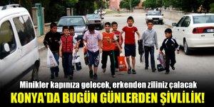 Konya'da bugün günlerden şivlilik!