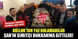Konyaspor yönetimi Rizelilere ayar verdi! Kulluk'tan yüz bulamadılar, Şan'ın simitçi dükkanına gittiler!