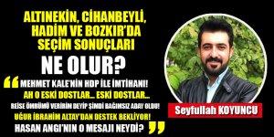 Altınekin, Cihanbeyli, Hadim ve Bozkır'da seçim sonuçları ne olur?