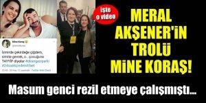 Meral Akşener'in trolü Mine Koraş! Masum genci rezil etmeye çalışmıştı...