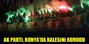 AK Parti, Konya'da kalesini korudu
