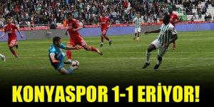 Konyaspor 1-1 eriyor! | Konyaspor 1-1 Sivasspor (Maç sonucu)