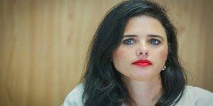 İsrailli bakan Ayelet Shaked nefret kustu