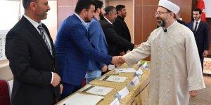 Diyanet İşleri Başkanı Erbaş, Roman Çalıştayı'na katıldı