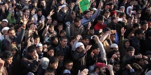 Protesters lock down parliament in Afghanistan