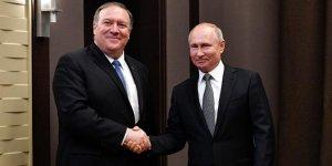 Putin, Pompeo ile uluslararası konuları görüştü