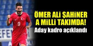 Konyaspor'dan Ömer Ali Şahiner A Milli Takıma çağırıldı! Aday kadro açıklandı