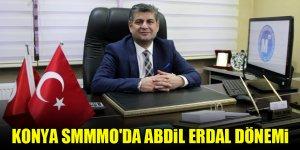Konya SMMMO'da Abdil Erdal dönemi
