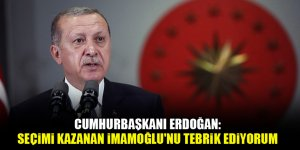 Cumhurbaşkanı Erdoğan: Seçimi kazanan Ekrem İmamoğlu'nu tebrik ediyorum