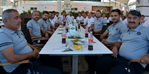 Konyaspor altyapısı yemekte buluştu