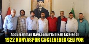 1922 Konyaspor güçlenerek geliyor…Abdurrahman Baysangur'la nikâh tazelendi