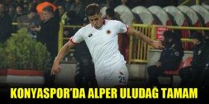Konyaspor'da Alper Uludağ tamam