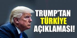 Trump'tan Türkiye açıklaması: Adil davranılmadı
