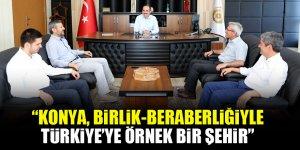 Uğur İbrahim Altay: Konya, birlik-beraberliğiyle Türkiye'ye örnek bir şehir