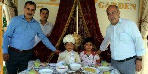 Mustafa Gülsever'in oğlu Yusuf sünnet oldu