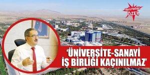 Prof. Dr. Mustafa Şahin, :'Üniversite-sanayi iş birliği kaçınılmaz'