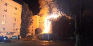 Rusya'da apartmanda yangın: 2 ölü, 1 yaralı