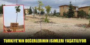 Türkiye'nin değerlerinin isimleri yaşatılıyor